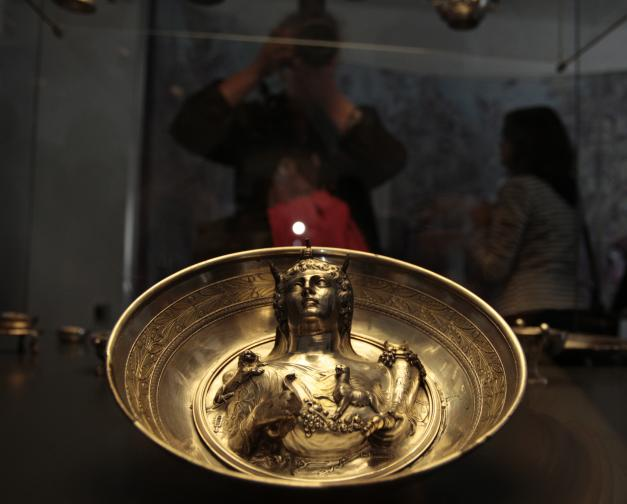 сребро Лувър съкровище