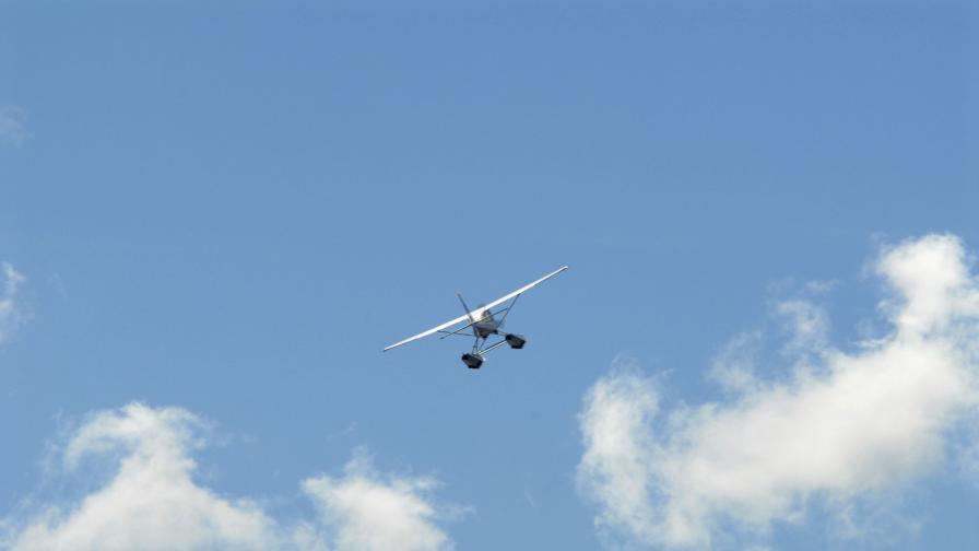 Пилот на двуместен самолет загина на Лесново