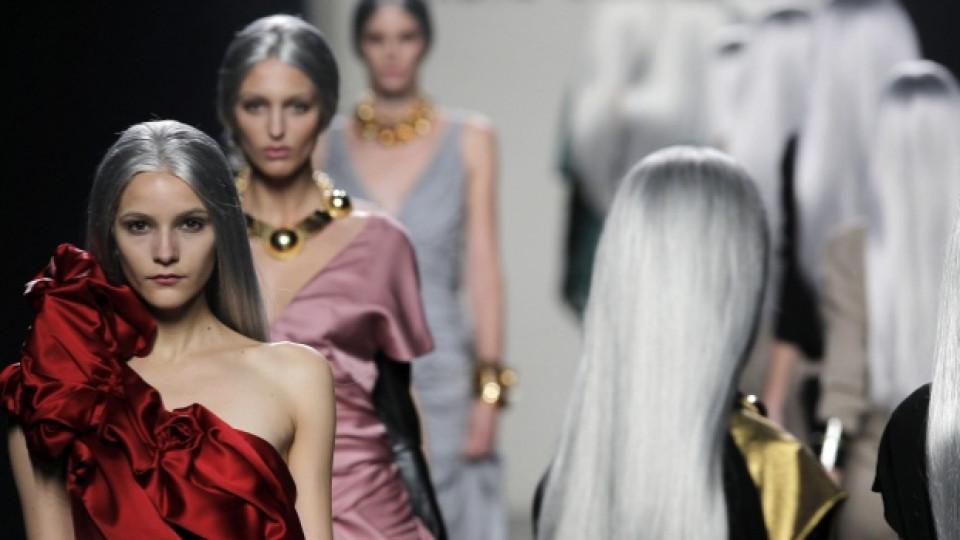 Ревюто на испанката Мария Барос прикова вниманието на гостите по време на Седмицата на модата в Мадрид