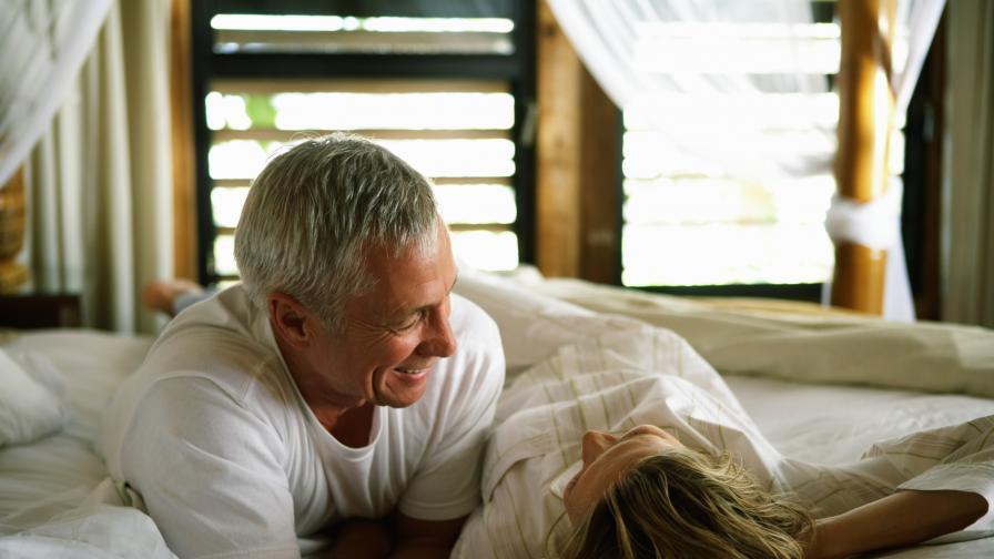 Хората правят най-добър секс на 55
