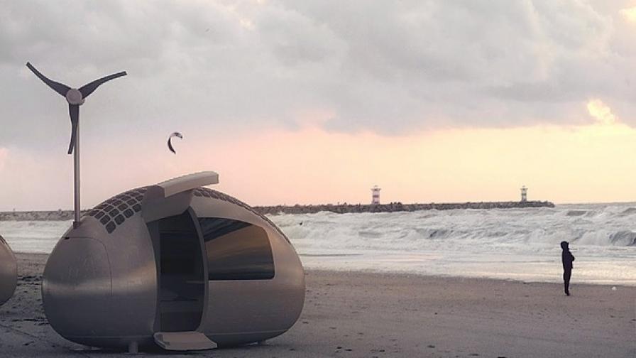 Архитекти създадоха каравана на бъдещето