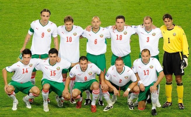 Националният отбор преди мача с Италия, 2010 г.
