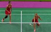 Габриела и Стефани Стоева на турнир в Тайван