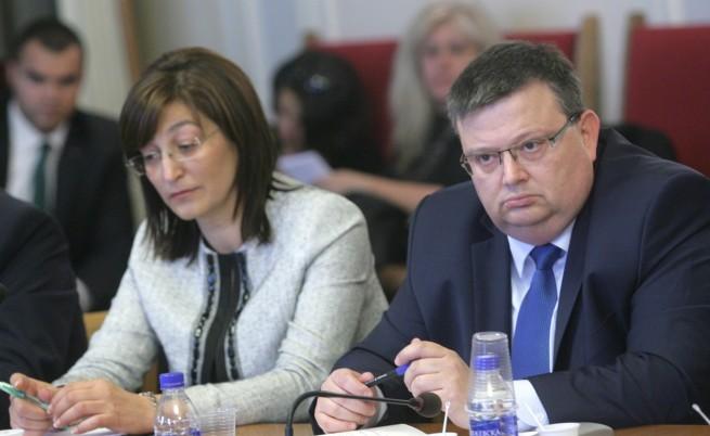 Цацаров отхвърли част от промените в Конституцията, президентът ги одобри