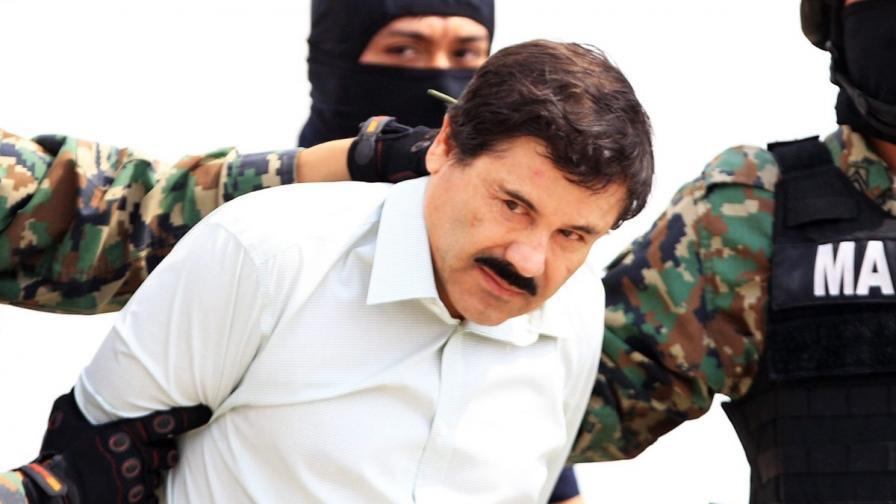 Ел Чапо, който избяга от затвора, е бил видян два пъти