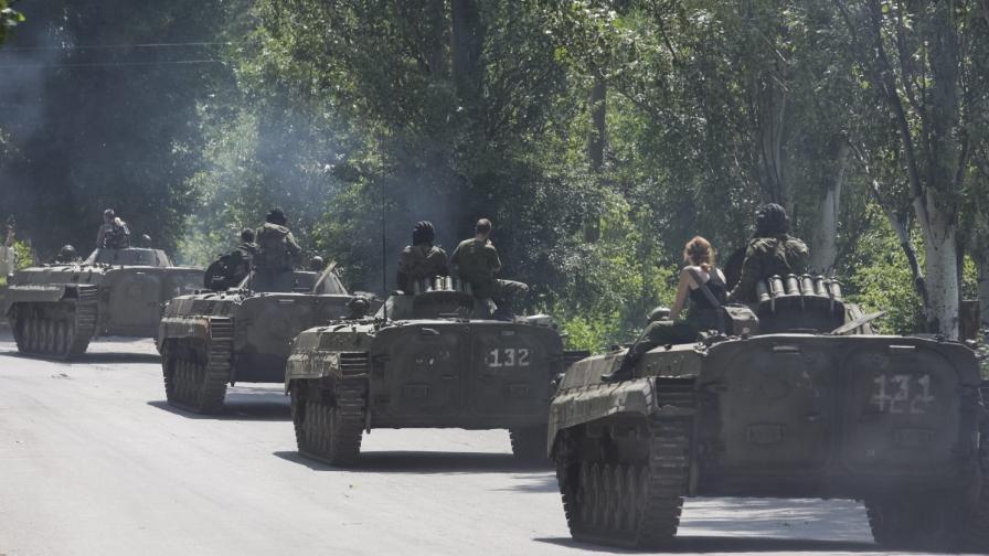 Киев и ДНР изтеглят тежкото си въоръжение