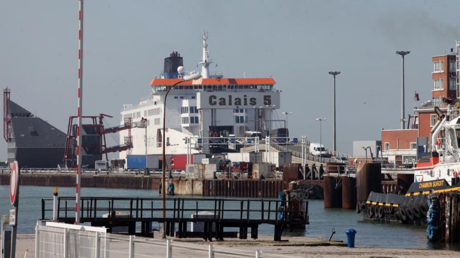 Пожар избухна на борда на ферибот в Ламанша