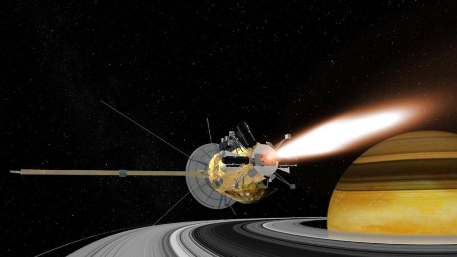 НАСА ще предава изгарянето на Cassini в небето над Сатурн