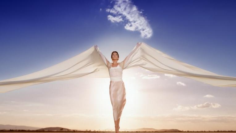 жена ангел сила молитва