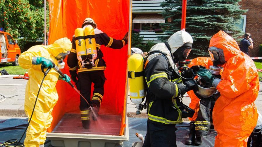 Десетки пострадали при пожар в германски бункер