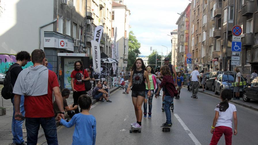 <p>В сърцето на София - спорт и изкуство на улицата (видеа)</p>