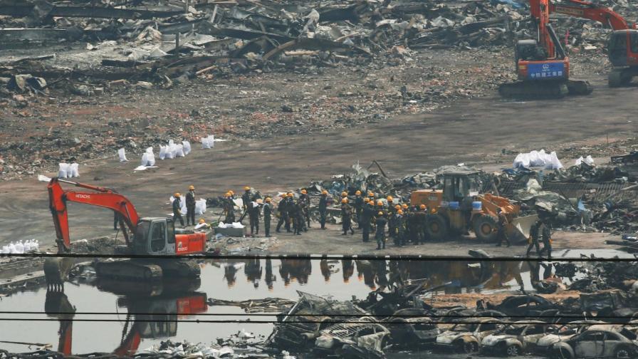 12 арестувани заради взривовете в Тиендзин