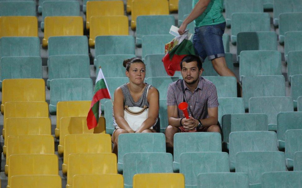 Италия и България ще играят пред полупразни трибуни