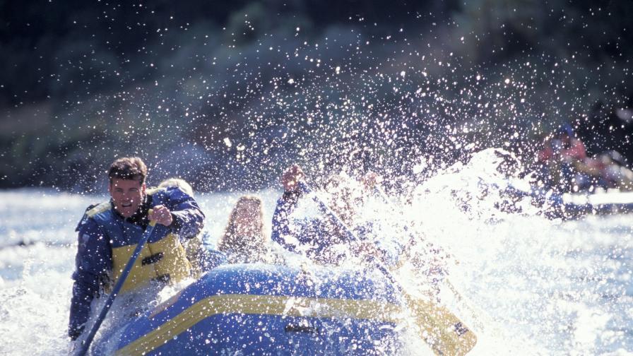 Нещо екстремно - рафтинг по Кресненското дефиле (видео)
