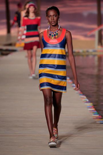 Дизайнерът Томи Хилфигър представи новата си колекция, вдъхновена от Карибите, по време на Седмицата на модата в Ню Йорк