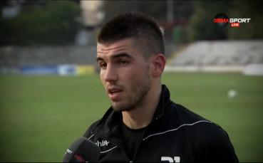 Стефан Велев: Искам да вкарвам още повече голове