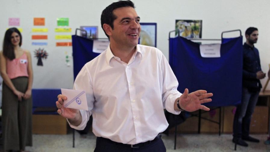 СИРИЗА печели изборите в Гърция