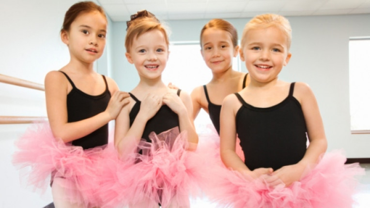 балерини деца