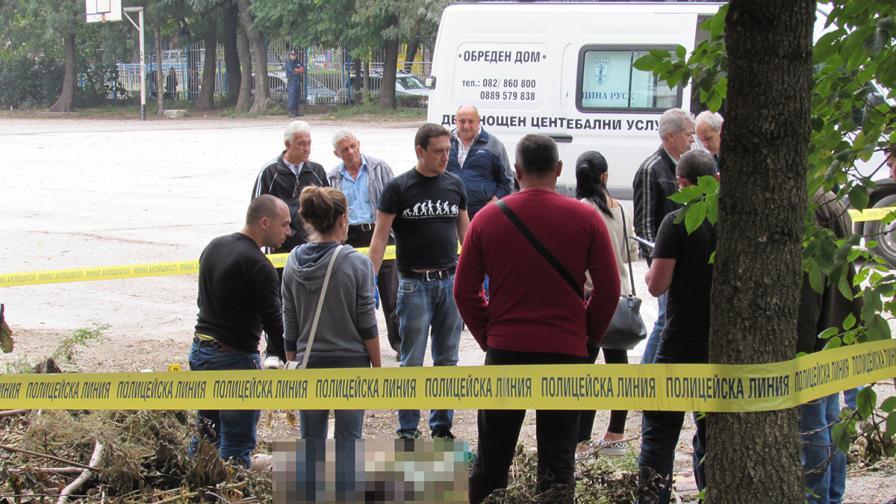 Полуразложено тяло беше открито в училищен двор в Русе
