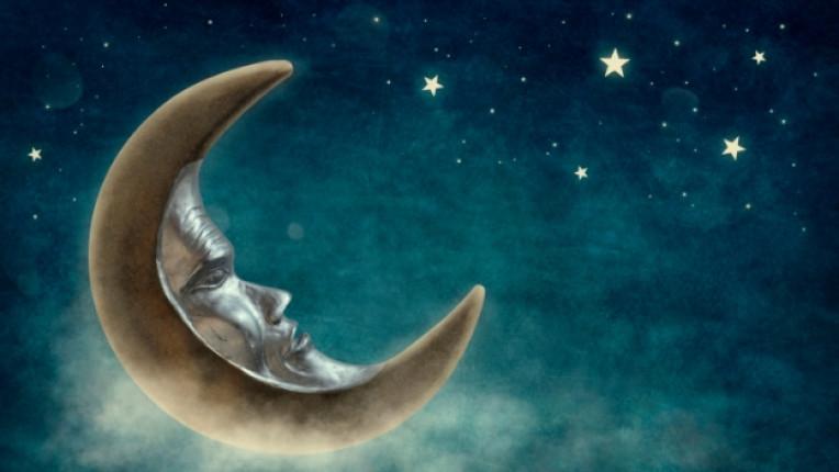 луна небе