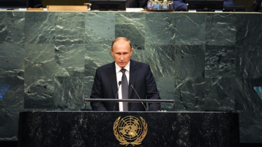 Путин: Грешка е да не се сътрудничи с режима в Сирия