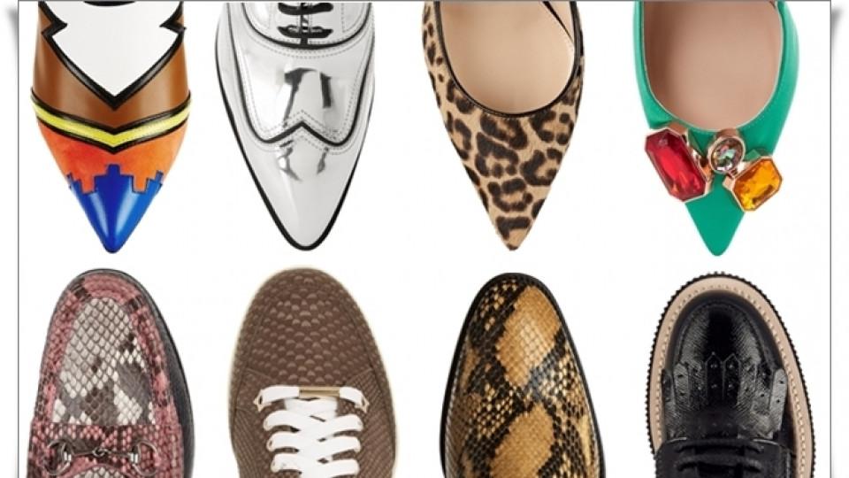 Обувките на есен 2015