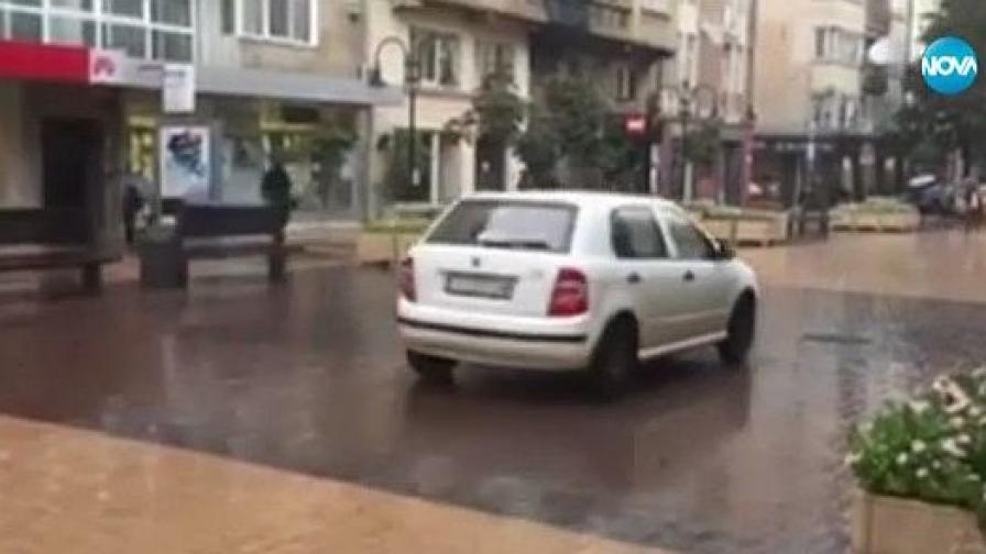"""Кой кара необезпокоявано по """"Витошка"""" (видео)"""