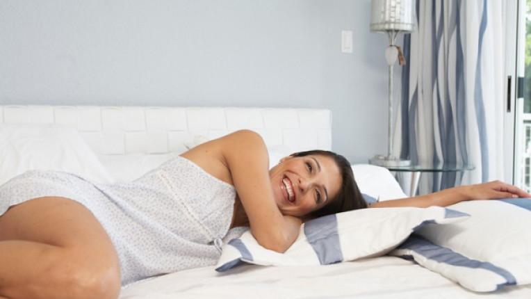 жена легло