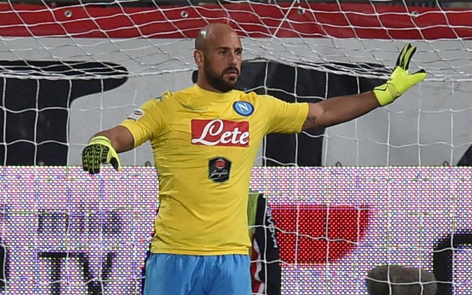 В Наполи взеха Пепе Рейна в състава за мача с Милан