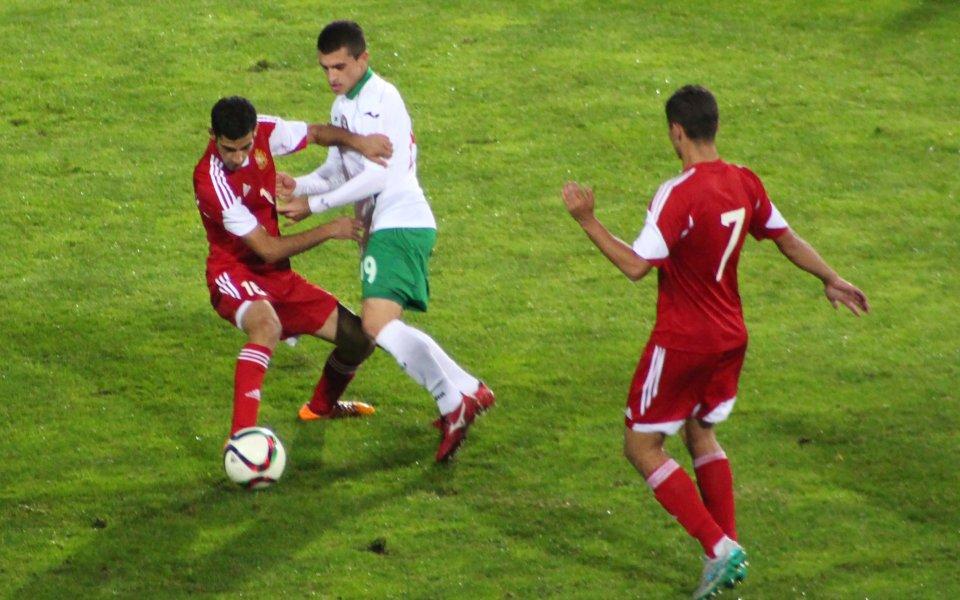 Безкомпромисна България не даде шанс на Армения и оглави групата