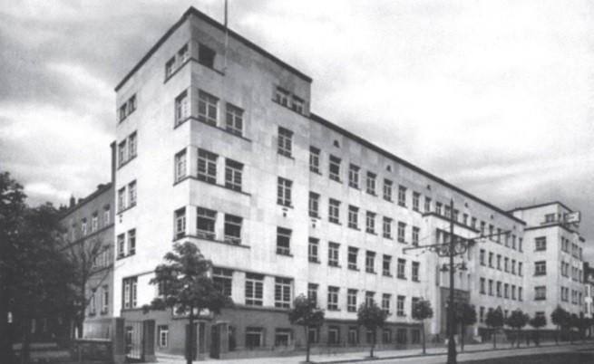 Сградата на Института за народно здраве - дн. Национален център по заразни и паразитни болести