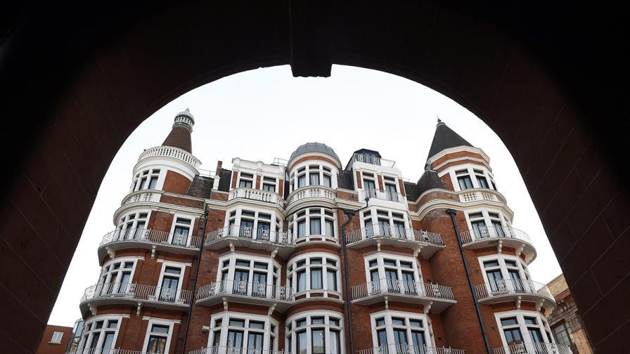 Еквадорското посолство в Лондон