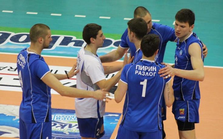 Пирин пребори Левски за полуфинал във волейбола