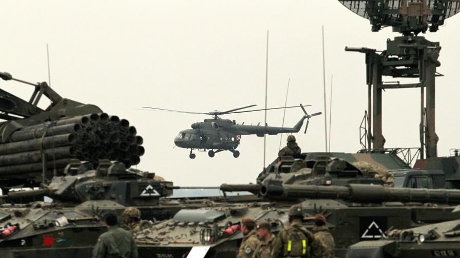 Участваме в най-мащабното учение на НАТО от десетилетия