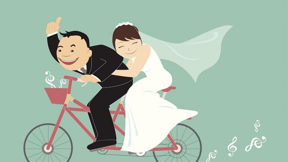 Сватбата е вид спорт
