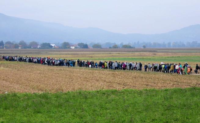 Словения плаши ЕС с ограда по границата с Хърватия