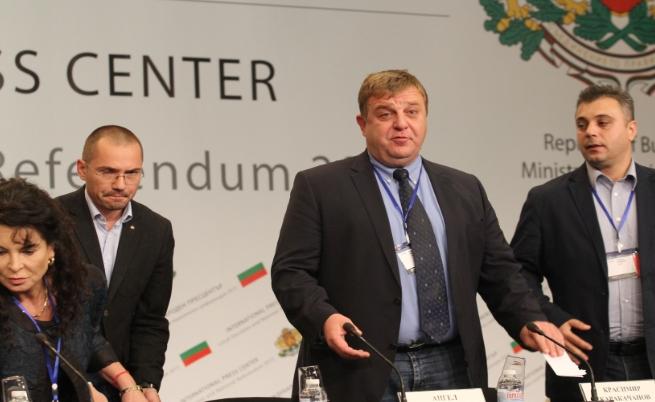 Каракачанов: На тези избори няма победители
