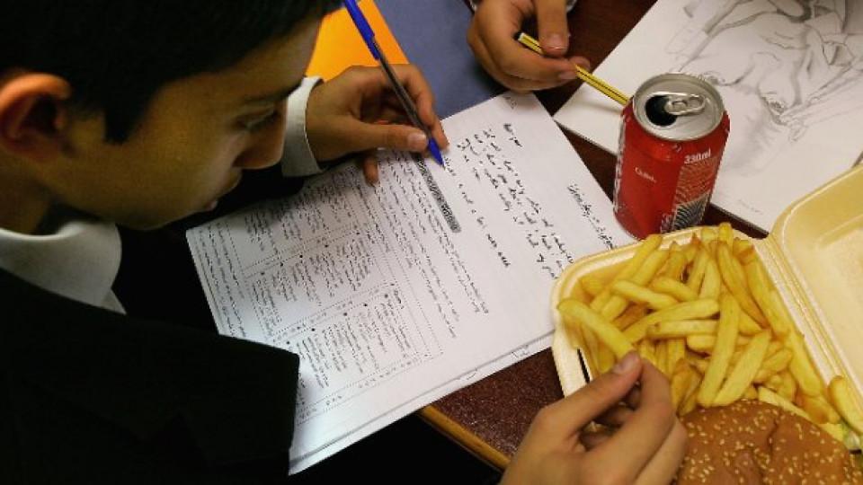 Когато децата не се хранят здравословно