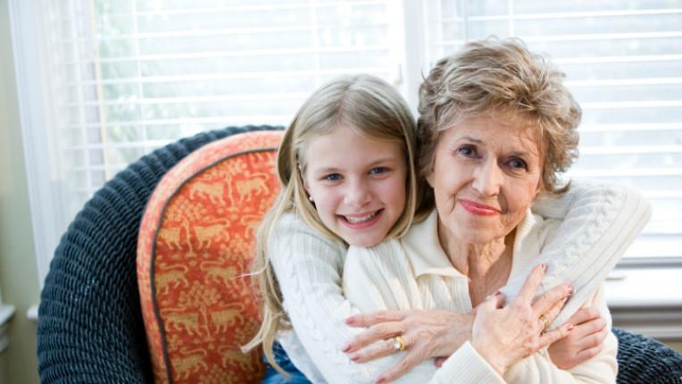 семейство дете майка баба