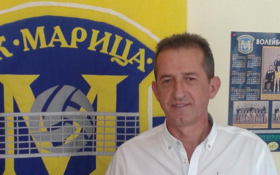 Босът на ВК Марица: Очаквам следващия ни съперник за Купата на ЦЕВ