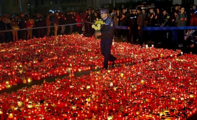 Жертвите от пожара в румънския клуб станаха 32