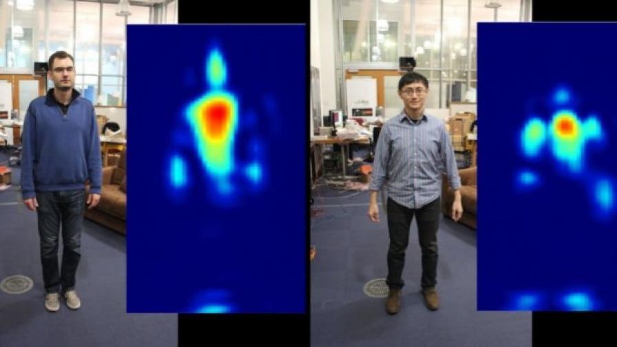 Учени гледат през стени с помощта на Wi-Fi