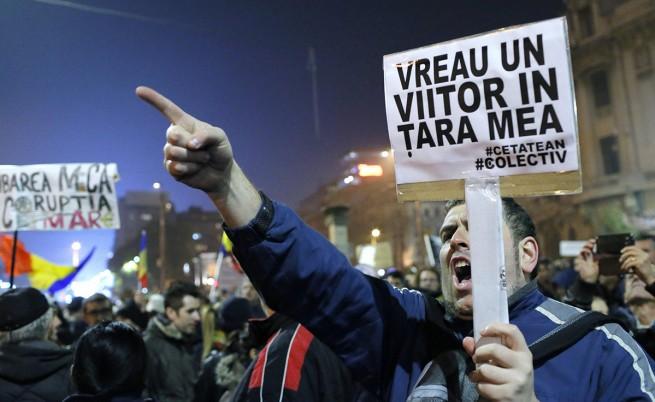 Румънците отново протестират