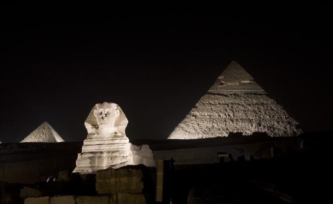 Учени откриха топлинни петна в египетските пирамиди