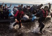 Мигранти се биха с местни жители на о. Лесбос