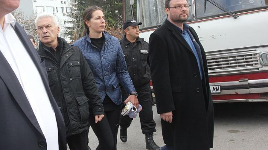 Сидеров е задържан за 72 часа, той обяви гладна стачка