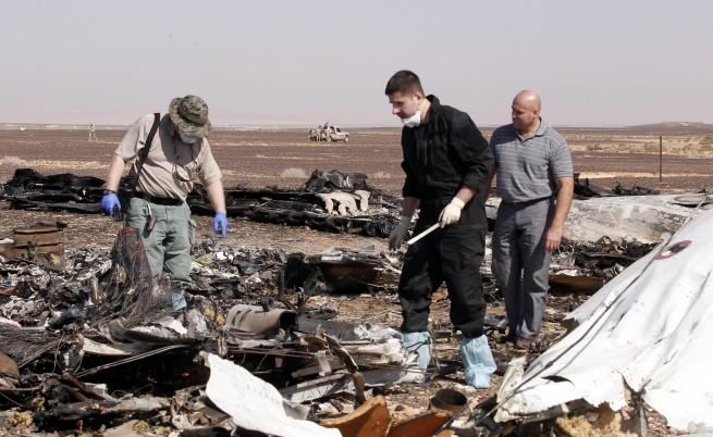 Египет задържа 17 души за свалянето на руския самолет