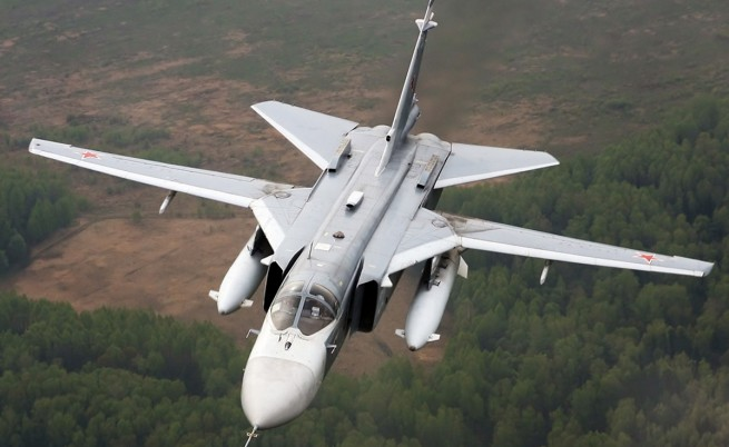 Турция свали руски бомбардировач край сирийската граница