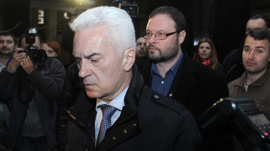 Волен Сидеров и Десислав Чуколов в Апелативния съд