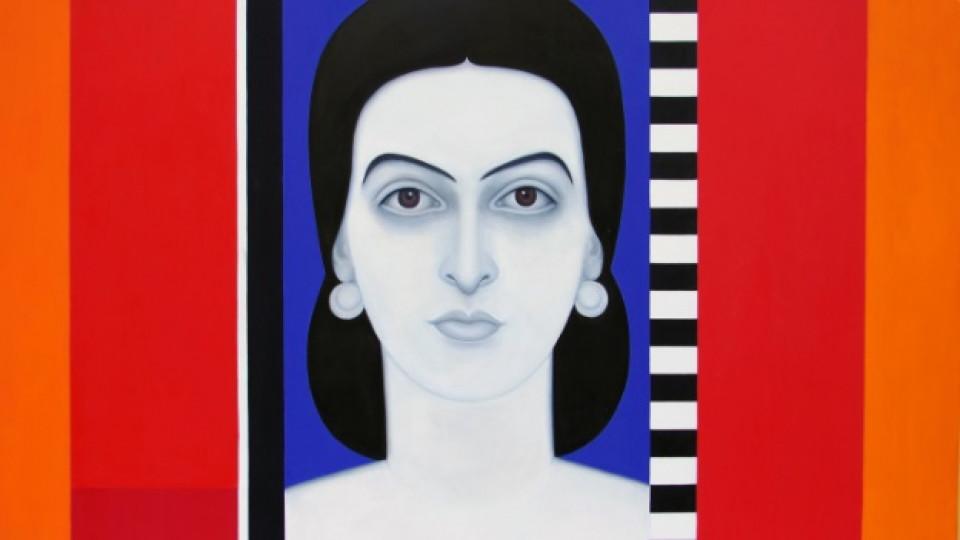 """Картина, част от изложбата """"Прозорец към душите"""""""